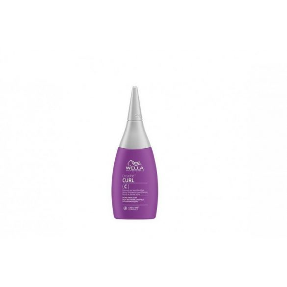 Wella Creatine+ Curl C enyhe göndörítő folyadék festett-érzékeny hajra 75 ml