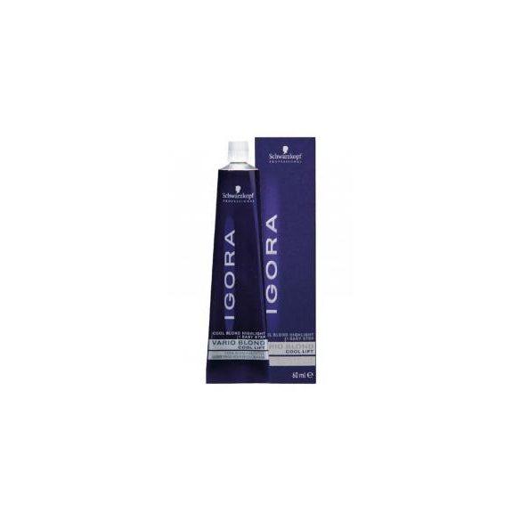 Schwarzkopf Igora Vario Blond hajfesték hideg szőkítő adalék 60 ml