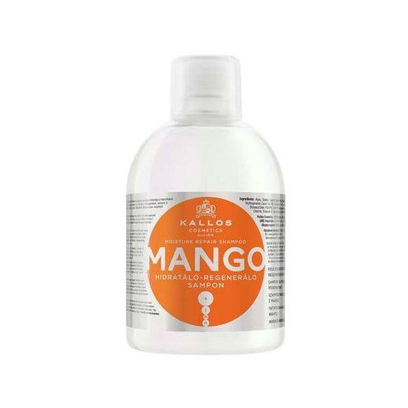 Kallos KJMN Mango hidratáló regeneráló sampon 1000 ml