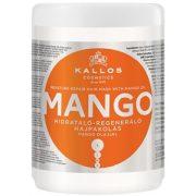 Kallos KJMN Mango Hajpakolás Mango olajjal  1000 ml