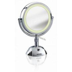 BaByliss Világító kétoldalas, 3 fényű kozmetikai tükör 8x nagyítással BA8438E