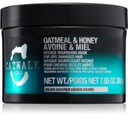 TIGI CATWALK Oatmeal&Honey hajmaszk száraz, roncsolt hajra 200 g
