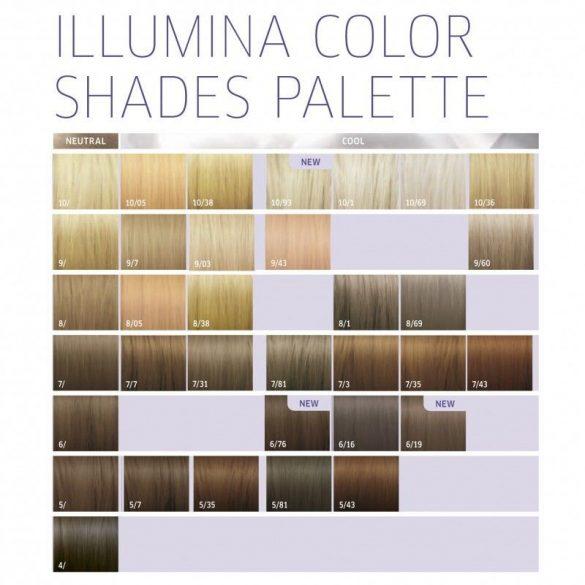 Wella Illumina Color hajfesték 60 ml