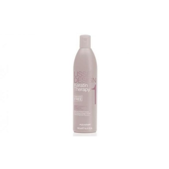 Alfaparf Lisse Design Keratin Therapy Deep Cleansing tisztító sampon 500 ml