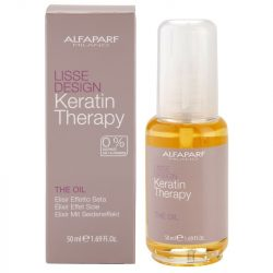 Alfaparf Lisse Design Keratin Therapy The Oil ápoló olaj 50 ml