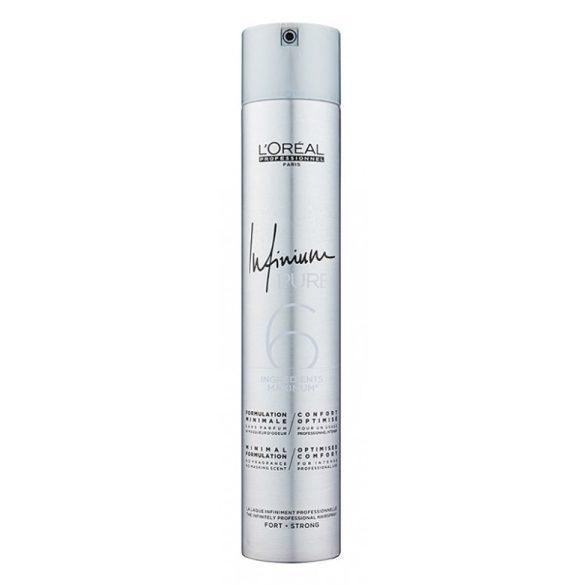 L'Oréal Infinium Pure hajlakk erős 500 ml