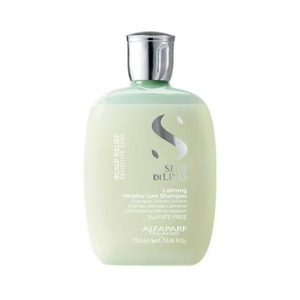 Alfaparf Semi Di Lino Scalp Relief Calming Micellar Low sampon érzékeny fejbőrre 250 ml