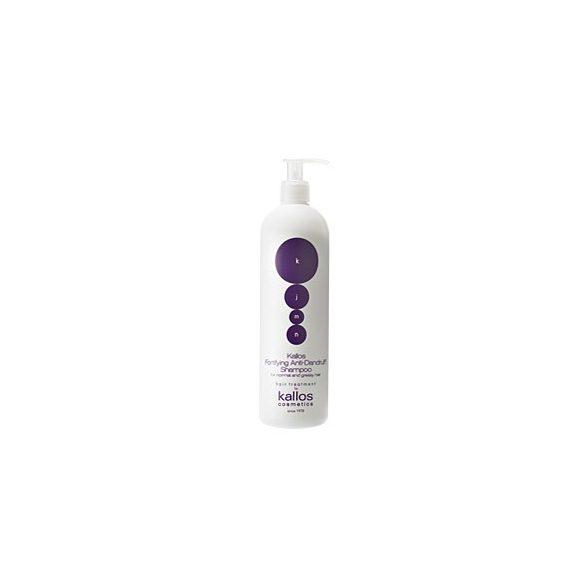 Kallos KJMN korpásodás elleni hajerősítő sampon 500 ml