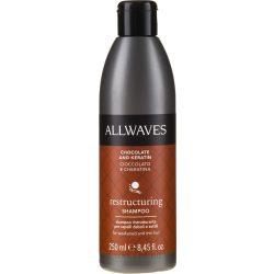 Allwaves Restructuring Regeneráló sampon csokoládéval és keratinnal 250 ml