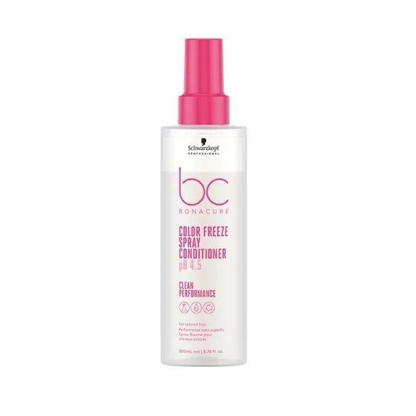 Schwarzkopf Bonacure ph 4.5 Color Freeze Hajszínrögzítő Spray Hajbalzsam 200 ml
