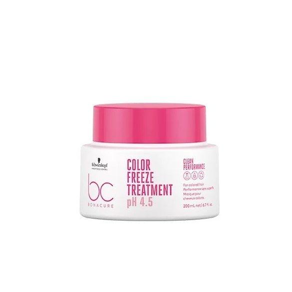Schwarzkopf Bonacure ph 4.5 Color Freeze Hajszínrögzítő Pakolás 200 ml