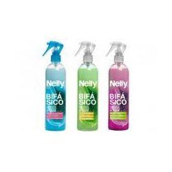 Nelly instant kétfázisú kondicionáló hajfényspray volumennövelő (lila) 400 ml