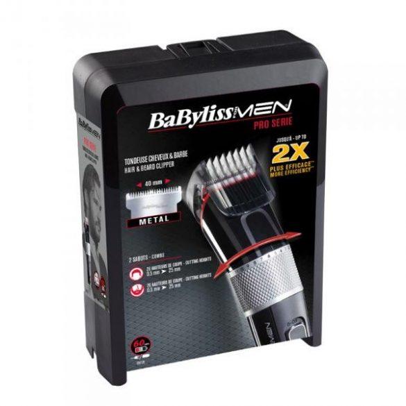 BaByliss vezeték/vezeték nélk. Pro haj és szakállnyíró kofferben (0,5-25 mm)  BAE972E