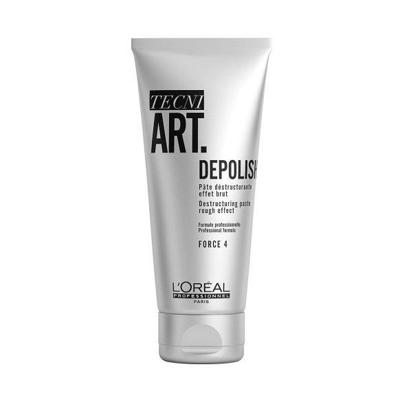 L'Oréal TECNI.ART Depolish hajformázó paszta borzas hatásért 100 ml