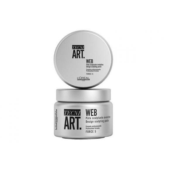 L'Oréal TECNI.ART Web hajformázó hálós paszta 150 ml