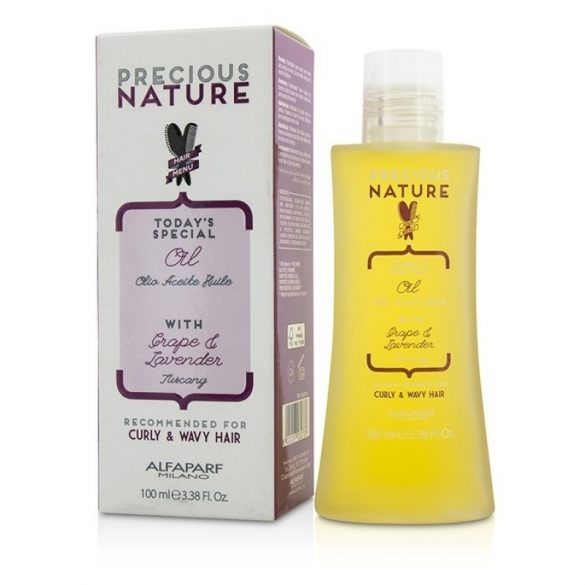 Alfaparf Precious Nature Curly&Wavy olaj göndör és hullámos hajra 100 ml