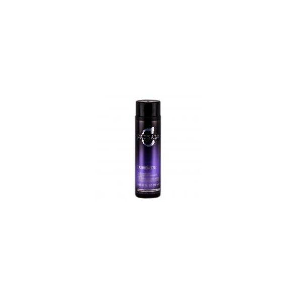 TIGI CATWALK Fashionista Violet kondicionáló szőke hajra 250 ml