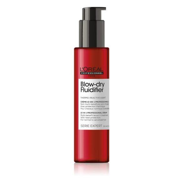 L'Oréal Série Expert Blowdry Fluidfier tápláló hővédő krém 150 ml