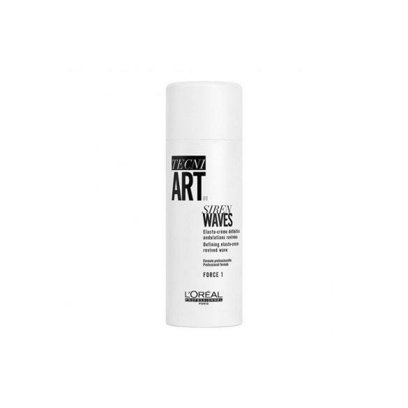 L'Oréal TECNI.ART Siren Waves formázó krém göndör hajra 150 ml