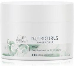 Wella Nutricurls Waves & Curls kisimító maszk a hullámos és göndör hajra  150 ml