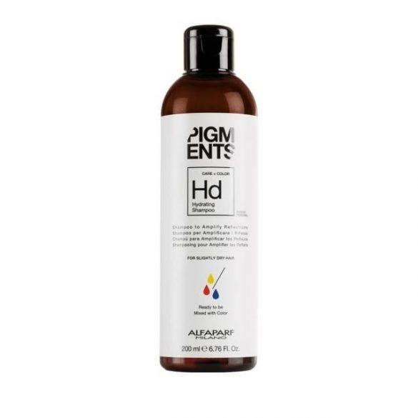 Alfaparf Pigments Hydrating sampon enyhén száraz hajra 200 ml