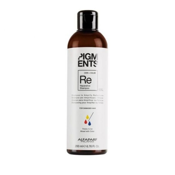 Alfaparf Pigments Reparative sampon roncsolt hajra 200 ml