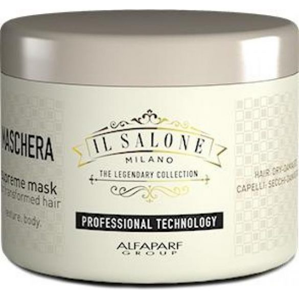 Alfaparf Il Salone Milano Supreme maszk száraz-roncsolt hajra 500 ml