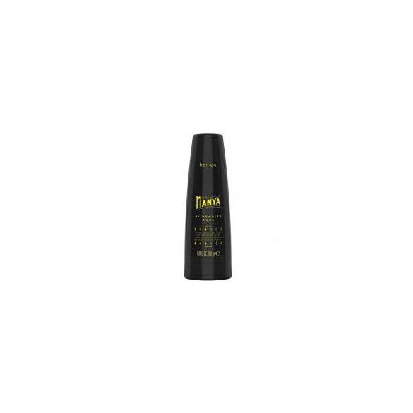 Kemon Hair Manya Hi Density Curl tartást adó krém göndör hajra 200 ml