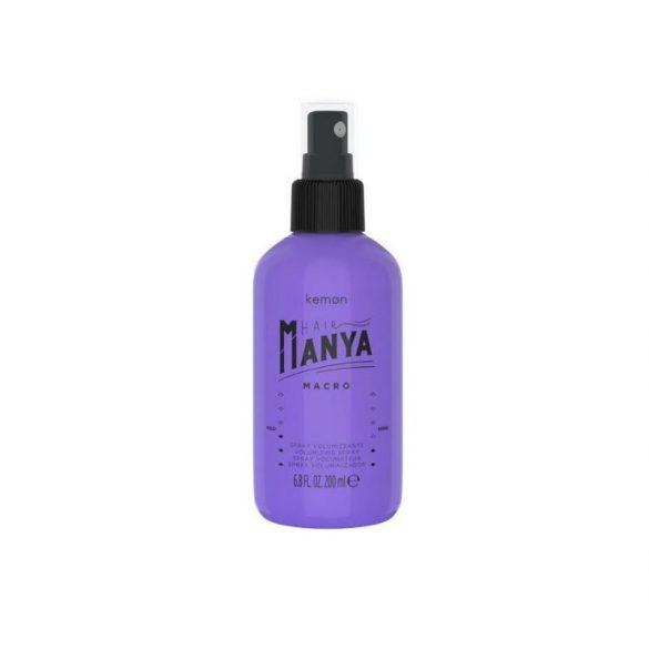 Kemon Hair Manya Macro volumennövelő spray 200 ml