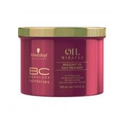 Schwarzkopf Bonacure Oil Miracle Brazilnut Oil pakolás 500 ml