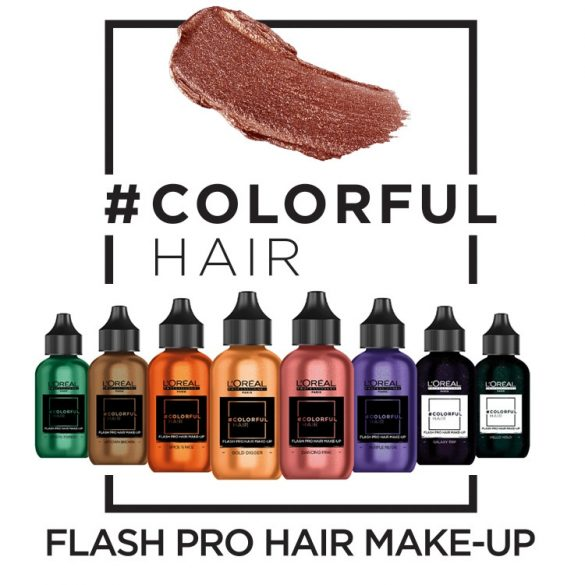 L'Oréal Colorful Hair Make-Up hajszinező 60 ml