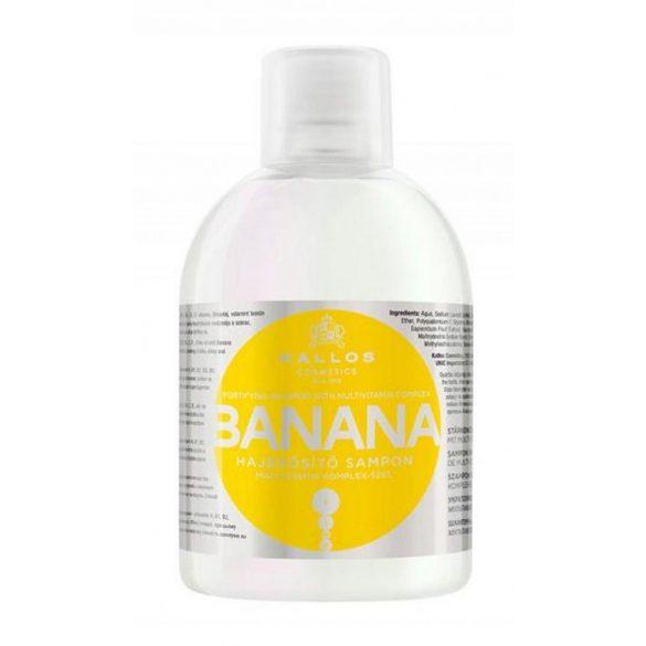 Kallos KJMN Banán Hajerősítő Sampon 1000 ml