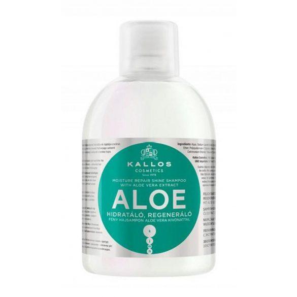 Kallos KJMN Hidratáló Regeneráló Fény Sampon Aloe Verával 1000 ml