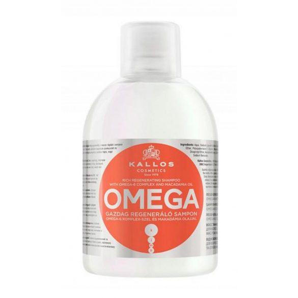 Kallos KJMN Omega Gazdag Regeneráló Sampon 1000 ml