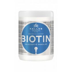 Kallos KJMN Biotin Hajszépítő Pakolás 1000 ml