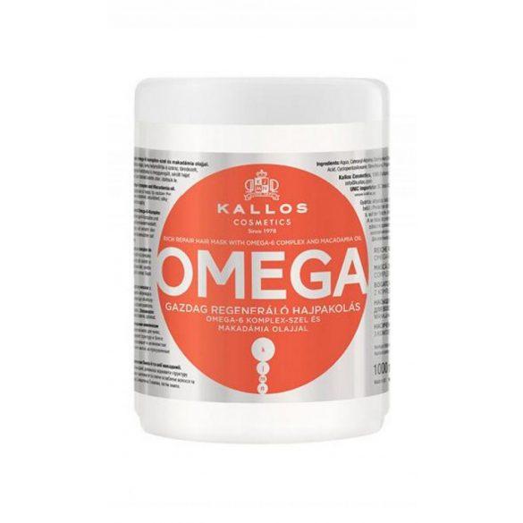 Kallos KJMN Omega Gazdag Regeneráló Hajpakolás 1000 ml