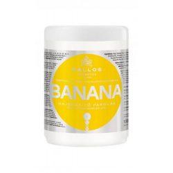 Kallos KJMN Banán Hajerősítő Pakolás 1000 ml