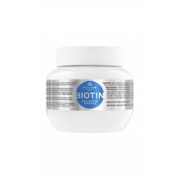 Kallos KJMN Biotin Hajszépítő Pakolás 275 ml