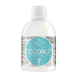 Kallos KJMN Kókusz Tápláló Hajerősítő sampon kókuszolajjal 1000 ml
