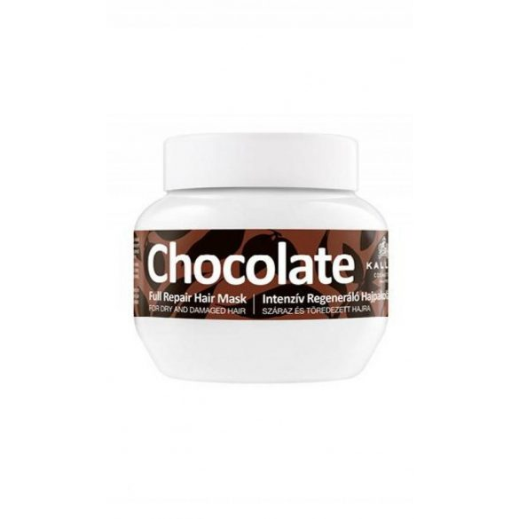 Kallos Csokoládé Intenziv Regeneráló Hajpakolás 275 ml