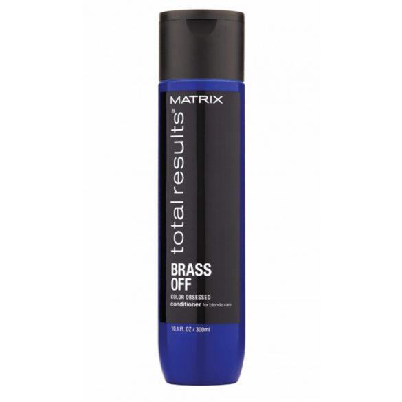 Matrix Total Results Brass Off kondicionáló szőkített hajra 300 ml