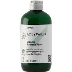 Kemon ActyvaBio Intenziv Sampon Esszencia 200 ml
