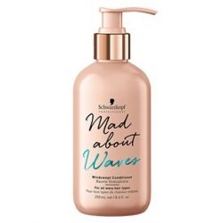 Schwarzkopf MadAbout Waves Windswept kondicionáló balzsam 250 ml