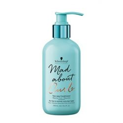 Schwarzkopf MadAbout Curls Two-Way kondicionáló balzsam 250 ml