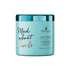 Schwarzkopf MadAbout Curls Butter Treatment hajpakolás 500 ml