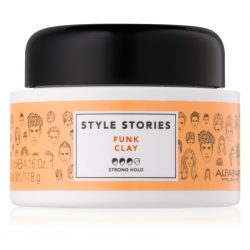 Alfaparf Style Stories Funk Clay formázó hajpaszta 100 ml