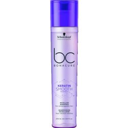 Schwarzkopf Bonacure Keratin Smooth Perfect sampon vatagszálú göndör hajra 250 ml