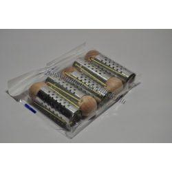 Hajcsavaró gombos fém lyukas 25mm 5db-os