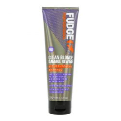 Fudge Clean Blonde Damage Rewind regeneráló sampon szőke hajra 250 ml