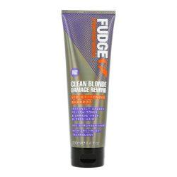 Fudge Clean Blonde Damage Rewind regeneráló sampon szőke hajra 250 ml